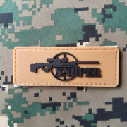Sniper 3d U.s. Army Military Tactical Patches Pvc Badge Rubber Patch 03