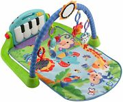 B Fisher-price Kick And Play Piano Gym, Blue/green