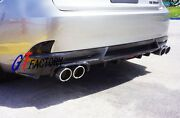 Carbon Rear Diffuser Spoiler Sk Style For 2013+ Lexus Is250 Is350 Is300h F-sport