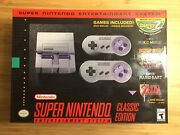 Super Nintendo Entertainment System Snes Classic Edition In Hand, Ready To Ship