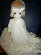 Precious Moments Doll Jenny 16 In. Christening Doll Item1012