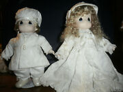 Precious Moments Dolls Dustin And Lindsay 12 In. Chapel Exclusives