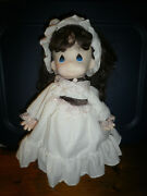 Precious Moments Doll Rebecca 16 In. Amway Exclusive With Certificate Item1052