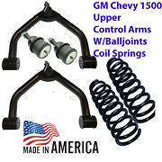 L Upper Control Arms Lift 1988-98 C1500 2wd 2 Lifted Coil Springs 250520