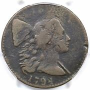 1794 S-32 R-2 Pcgs Vg Details Head Of 1794 Liberty Cap Large Cent Coin 1c