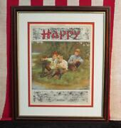 Vintage 1920s And039happyand039 Song Antique Sheet Music Fishing Graphic Cover Victorian