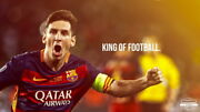 251 Lionel Messi - Barcelona Football Soccer Top Player 24x14 Poster