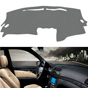 Dash Cover Mat Dashboard Pad For 2007-2012 Nissan Altima Fit Us Version Gray