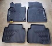 Toyota Camry 2018 - 2020 All Weather Rubber Floor Liner Mat Set - Oem New