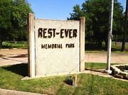 2 Burial Plots - Restever Cemetery Bryan Texas - Sold Out Veteransand039 Section