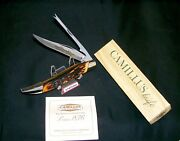 Camillus 31 Knife Indian Stag 1973 Usa Sword Brand Handmade W/packagingpapers