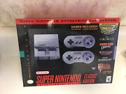Super Nintendo Snes Classic Edition Brand New 20 Of The Best Games Preloaded