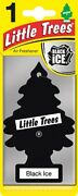 Wholsale Of 400 Little Trees Black Ice Hanging Car Home Cool Air Freshener Scent