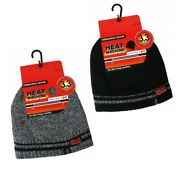 3.3 Tog Polar Fleece Insulated Thermal Beanie Hats Bobby Bobbie Adults Knitted