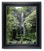 Ornate Heritage Black Picture Frames And Clear Glass
