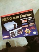 Nintendo Entertainment System Nes Mini Classic Edition W/30x Games Discontinued