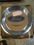 Nos 1970 Ford Mustang 14x6 Trim Rings For Australian Slotted Wheels D0zz-1210-a