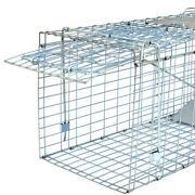 Live Animal Trap Extra Large Rodent Cage Garden Rabbit Raccoon Cat 32 X 12.5