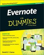 Evernote For Dummies Paperback Or Softback