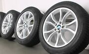 4 Bmw Winter Wheels Styling 594 Set Of Tyres X6 F16 Rdci 255/50 R19 107v+s New