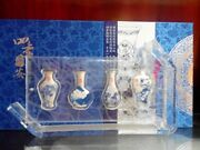China Safe In All Four Seasons Silver Bar Blue And White Series