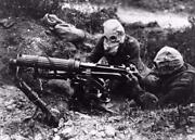 World War 1 Chemical Weapon Gas Mask Glossy Poster Picture Photo Banner Wwi 3260