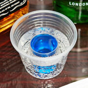 500 Clear Jager Bomb Blaster Power Chaser Shot Glass Disposable Plastic Cup Case