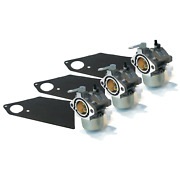 3 New Carburetor Carbs For Briggs And Stratton Simplicity Snapper 690111 690115