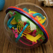 Maze 3d Puzzle Ball Game Toy Intellect Magic Labyrinth Educational Kids Fun Gift