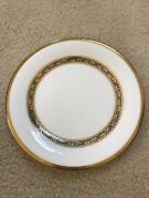 Royal Doulton Harlow Gold Rimmed Svc. For 8 + Serving Set Excellent Condition