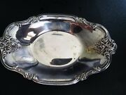 Is International Silver Company 448 Silver Plate Candy Dish 8.5 X 5.5