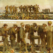 64wx24h Gassed By John Singer Sargent - Chemical Weapons Wwi Choices Of Canvas