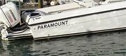 Paramount Boat Decal Stickers Decal Sticker Made In The Usa Decals Flats Boats