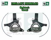 2016+ Gmc Sierra 1500 2wd 5 Lift Spindles + Brake Lines Stamped / Alum. Arms