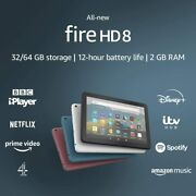 All New Kindle Fire Hd 8 Tablet 32gb With Alexa, 10th Gen 2020 Uk Stock
