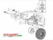 Transmission Exploded View Mower Lawn Mower Sd98 Xd150hdc Castelgarden Parts