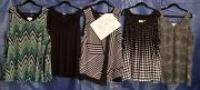 Camisole Plus Size Top. Eight Piece Lot. Old Navy, Avenue Brand.gently Worn 27