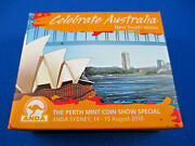 2010 Celebrate Australia. New South Wales 1oz Silver Proof Coin . Anda Sydney