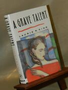 A Grave Talent By Laurie King - Signed 1st/1st