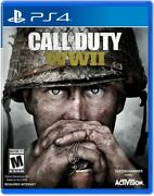 Call Of Duty Wwii Sony Playstation 4 2017