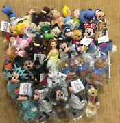 Disney Lot Of 38 Plush Beanie Doll Figures All Brand New In Storage 4 Roo