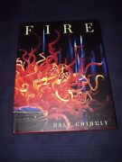 Dale Chihuly Signed Book Fire 1st Ed Limited Run Glass Master Extremely Rare