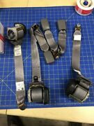 05 06 Nissan Altima Pass Mid Driver Rear Seatbelts Oem And Latches
