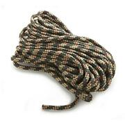 Anchor Rope Dock Line 1/4 X 400and039 Braided 100 Nylon Camo Made In Usa