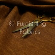 Brown Colour Soft Jeans Clothing Effect Faux Leather Upholstery Vinyl Fabric