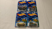 2002 Hot Wheels Cold Blooded Series Complete Set Of 4