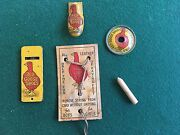 Rare Antique Red Goose Shoes Advertising Trinkets