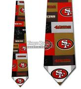 49ers Ties Free Shipping San Francisco 49ers Necktie Licensed Neck Tie Nwt
