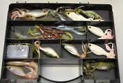 Large Lot Of Vintage Power Bait Soft Lures Worms