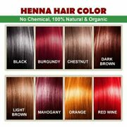 Botanica Natural Henna Hair Color Free With Dye Brush,gloves And Shower Cap Fbb
